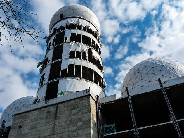 Teufelsberg Spy Station, aka Field Station Berlin