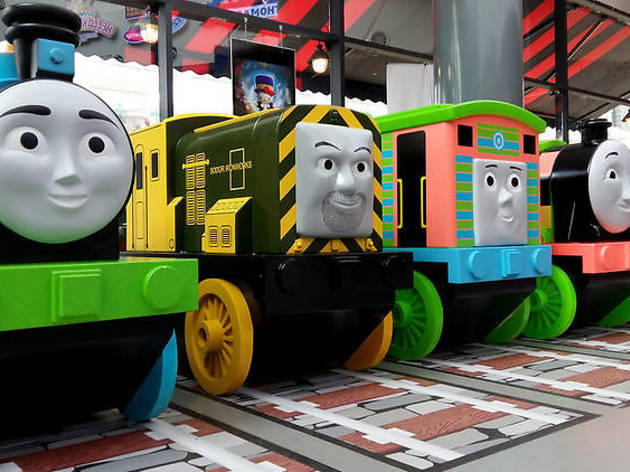 All aboard! Thomas Town attraction is on its way