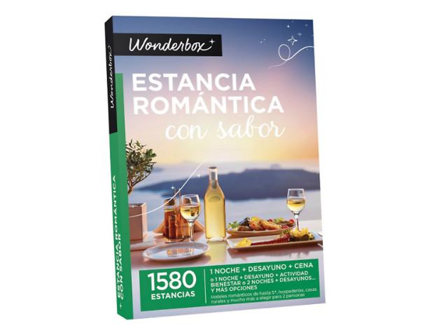 Estancia romántica con sabor