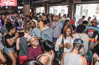 Philadelphia Black Pride takes place each April in the City of Brotherly Love with tons of parties, panels, happy hours and more