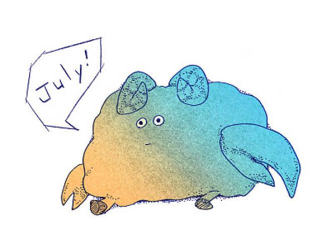 7月生まれ 未月×蟹月