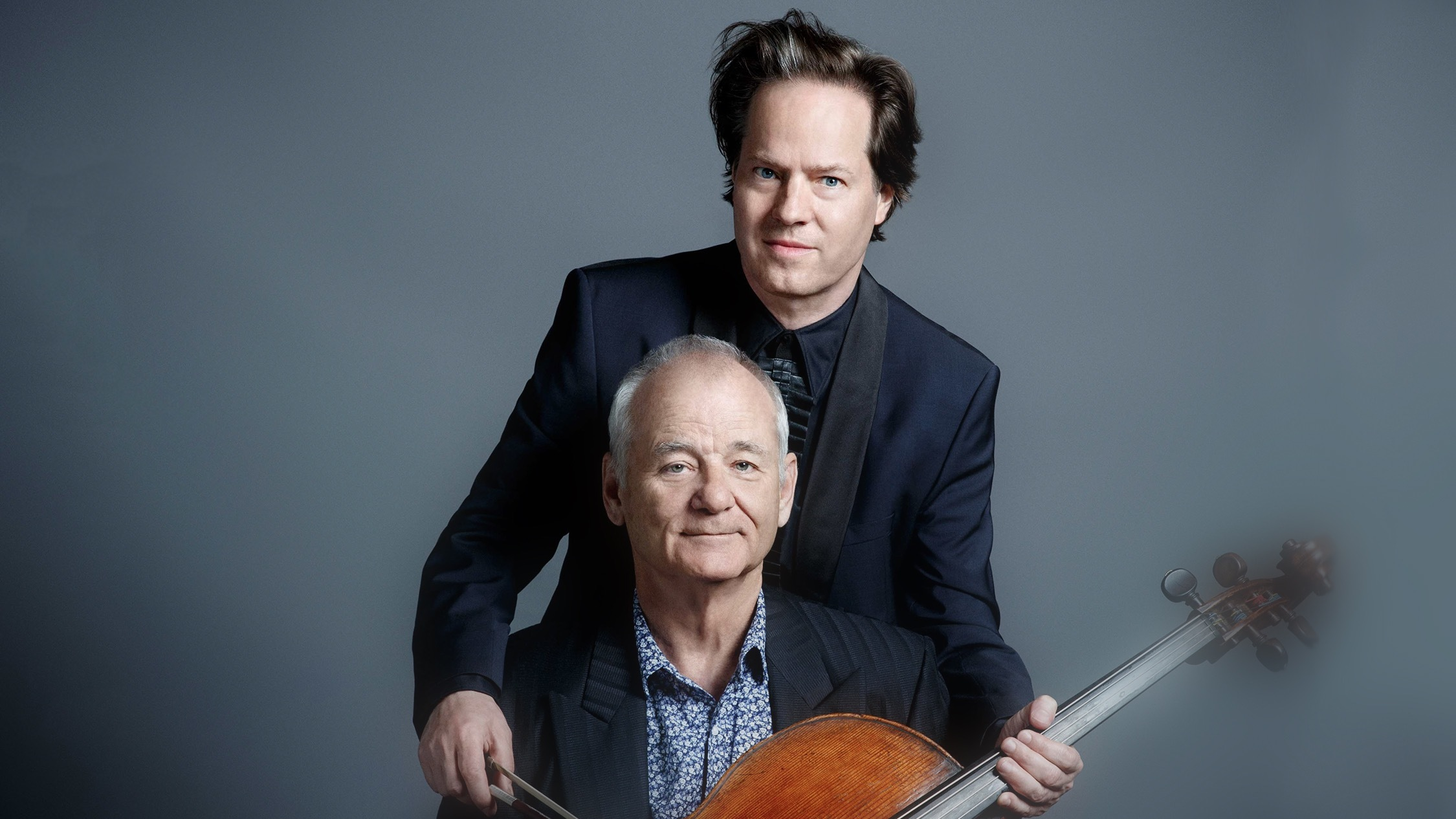 Jan Vogler and Bill Murray at Sydney Opera House