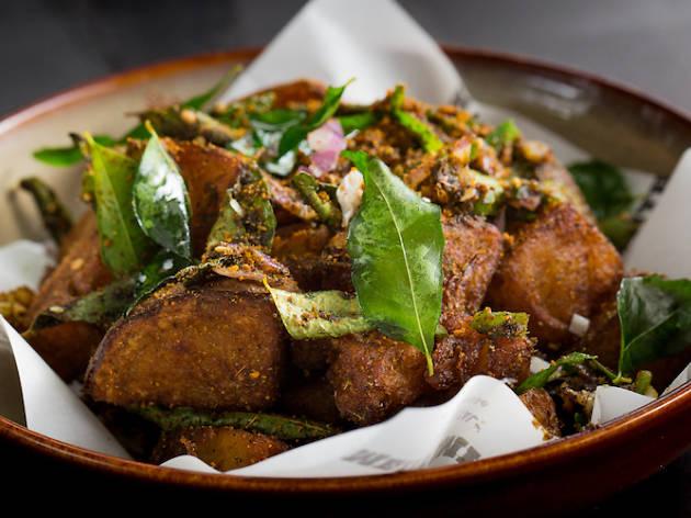 Gun Powder Potatoes, Meatsmith Little India