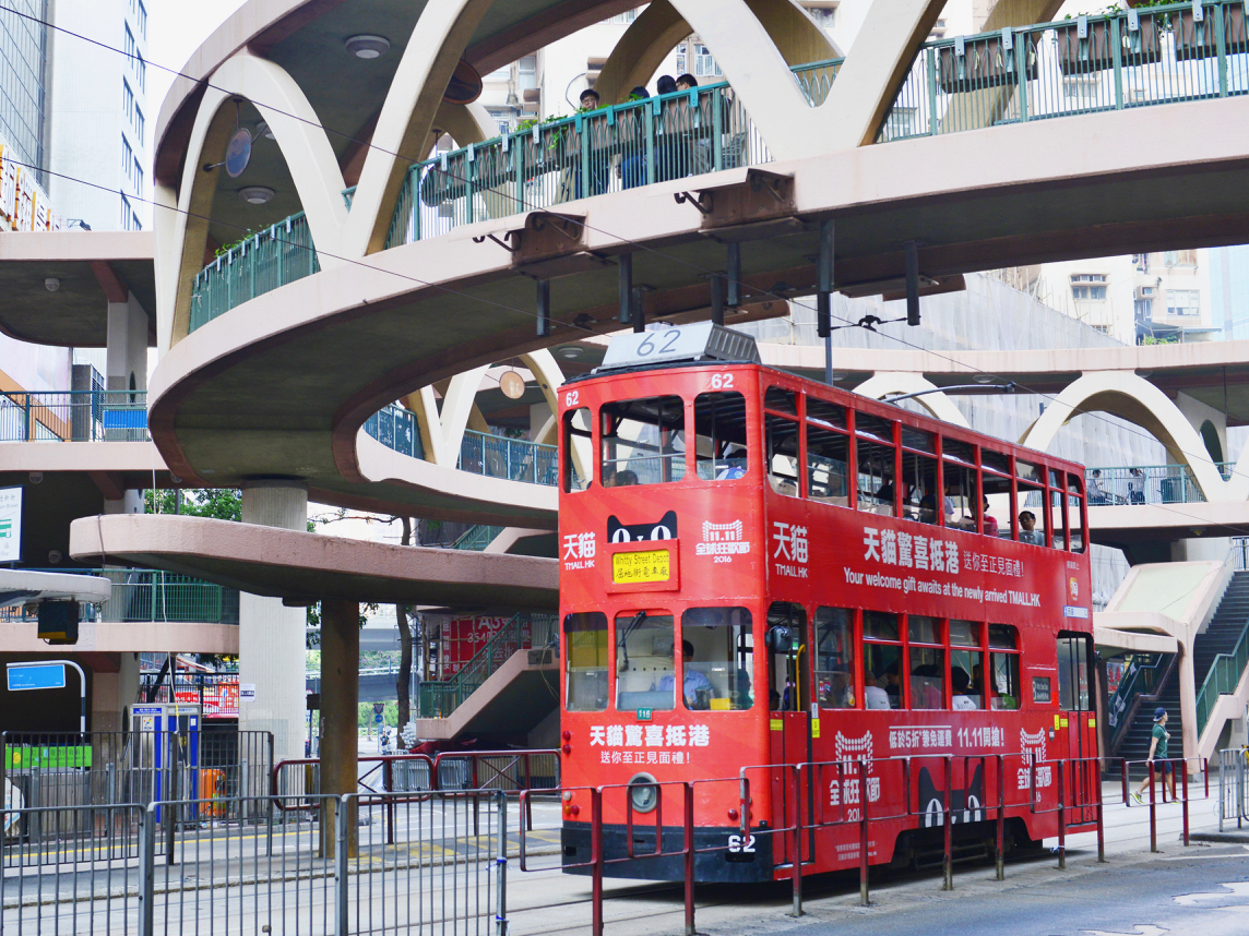 Tram in Hong Kong