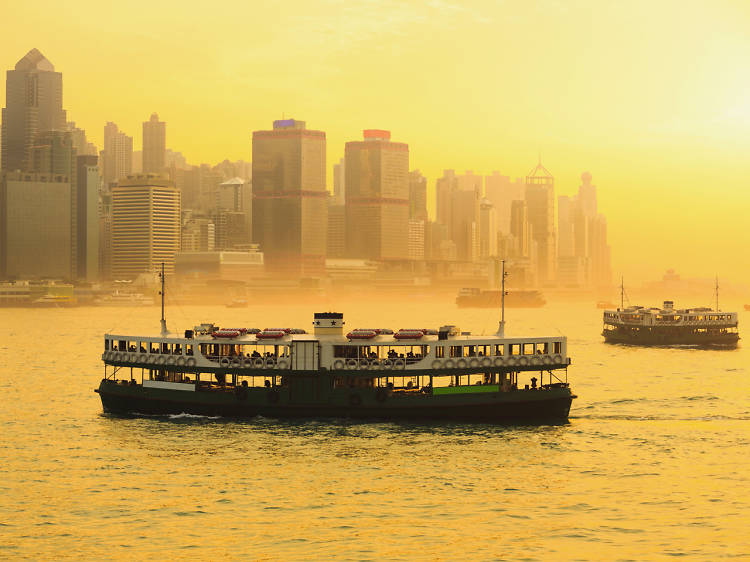 Take the Star Ferry