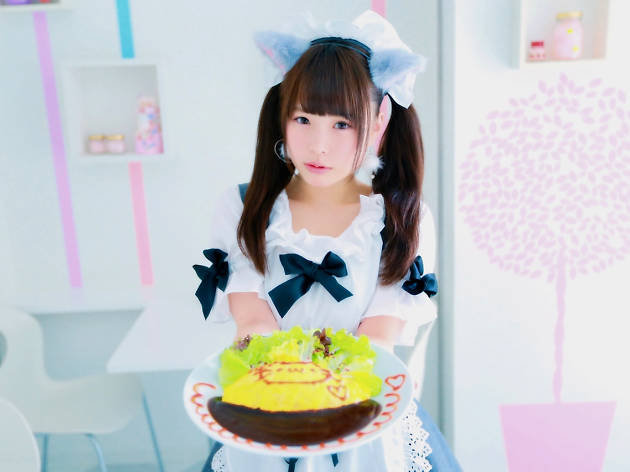 Maid Cafe in Tokyo
