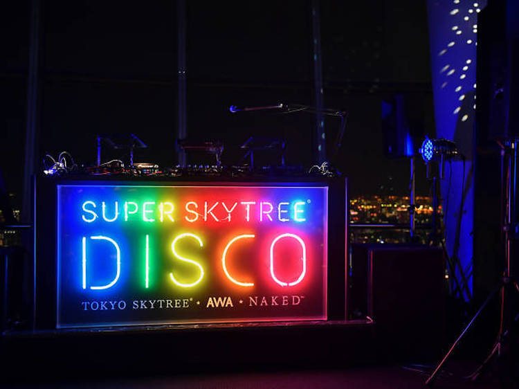 Hit up the Tokyo Skytree Disco