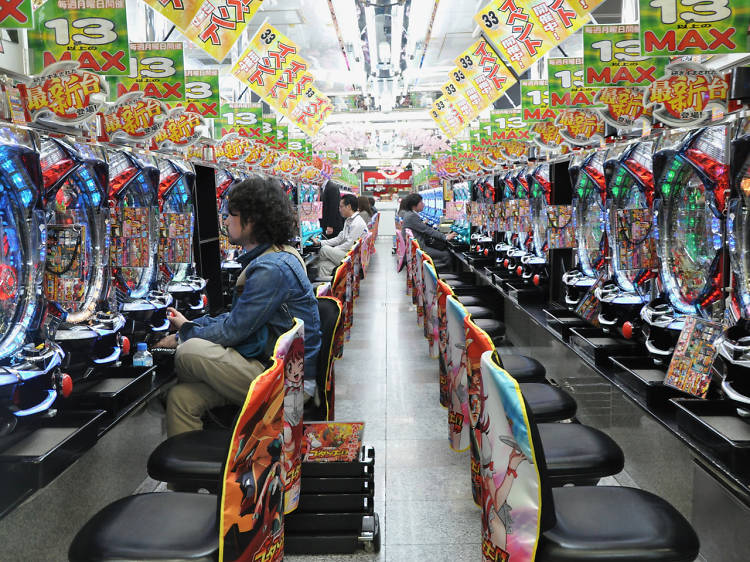 Play Pachinko with other loners