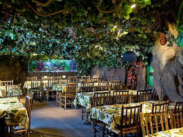 Rainforest cafe restaurants in piccadilly circus london