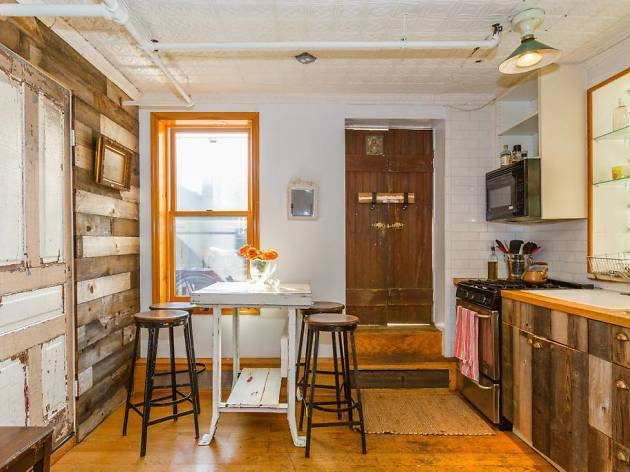 Adorable rooftop cottage in the East Village