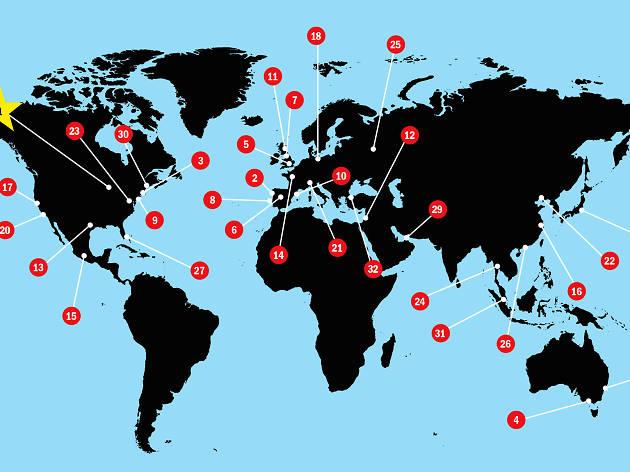 Las ciudades más emocionantes del mundo 2018