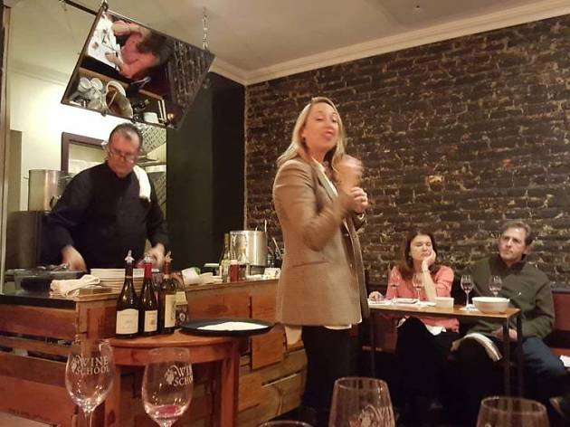 Take classes in all things wine, beer and cocktails at the Wine School of Philadelphia