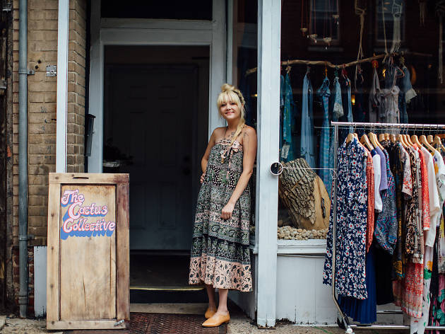 Cactus Collective is among the shops that host events during Fourth Fridays on Fabric Row