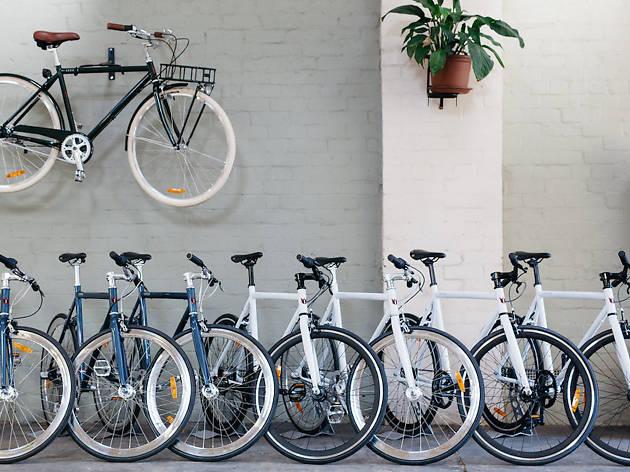 A range of the bikes on offer at Lekker's Sydney store