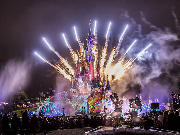 Fireworks, Time Out Disneyland Paris and Mastercard Creative Solutions