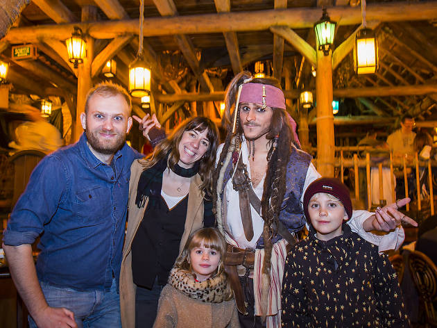 Captain Jack Sparrow - Time Out Disneyland Paris and Mastercard Creative Solutions