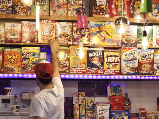 Cereal Lovers Bar