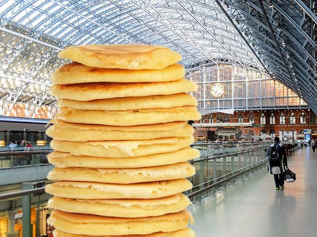 Flippin' heck: St Pancras has changed its name to St Pancake