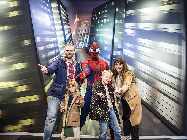 Spiderman - Time Out Disneyland Paris and Mastercard Creative Solutions