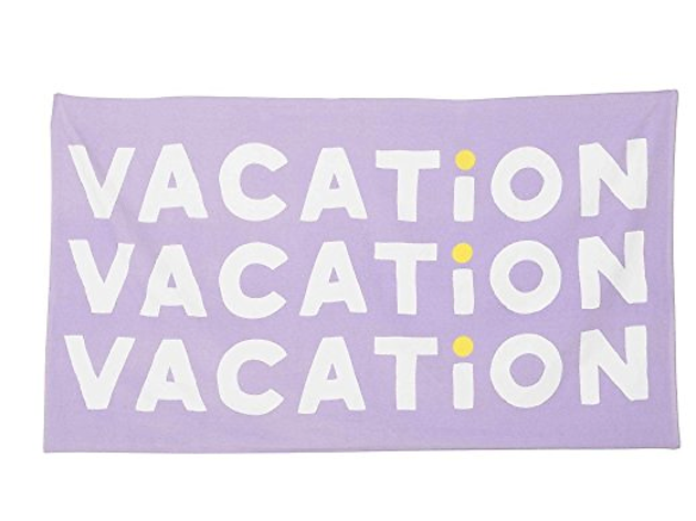 The perfect beach towel that tells people what you came for