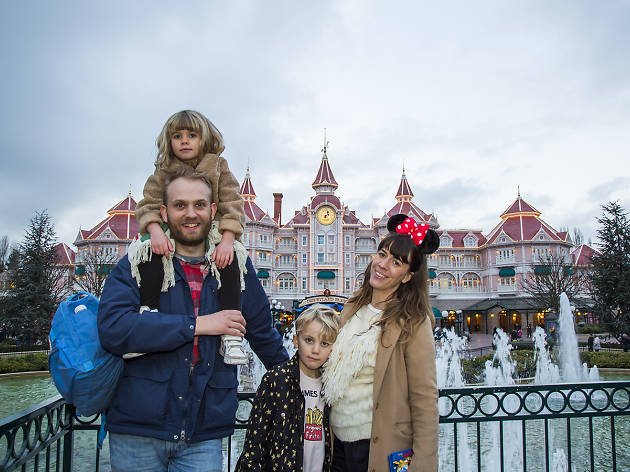 Disneyland Hotel - Time Out Disneyland Paris and Mastercard Creative Solutions