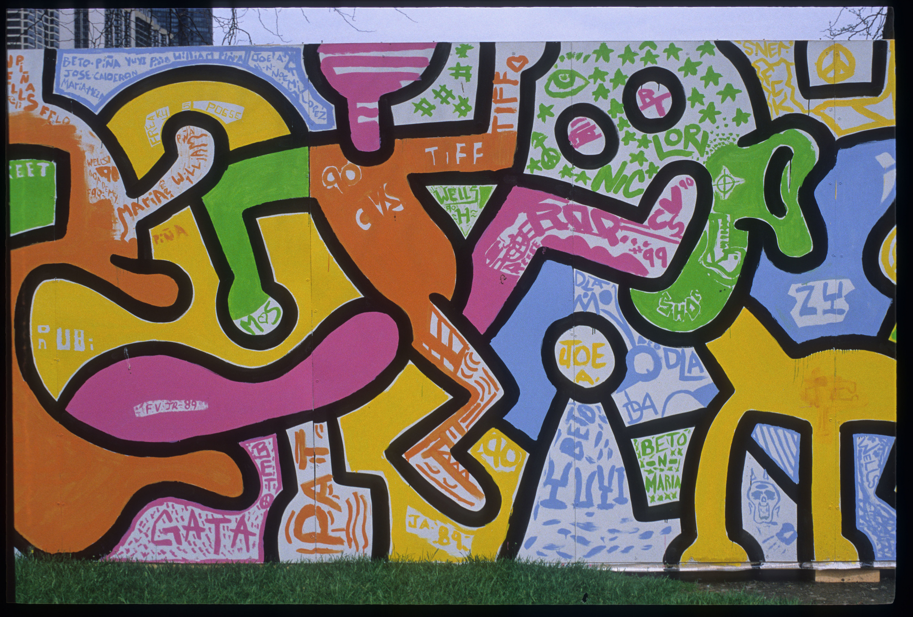 Keith Haring Chicago Mural