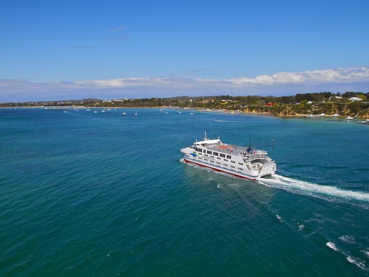 Take the ferry from Queenscliff to Sorrento