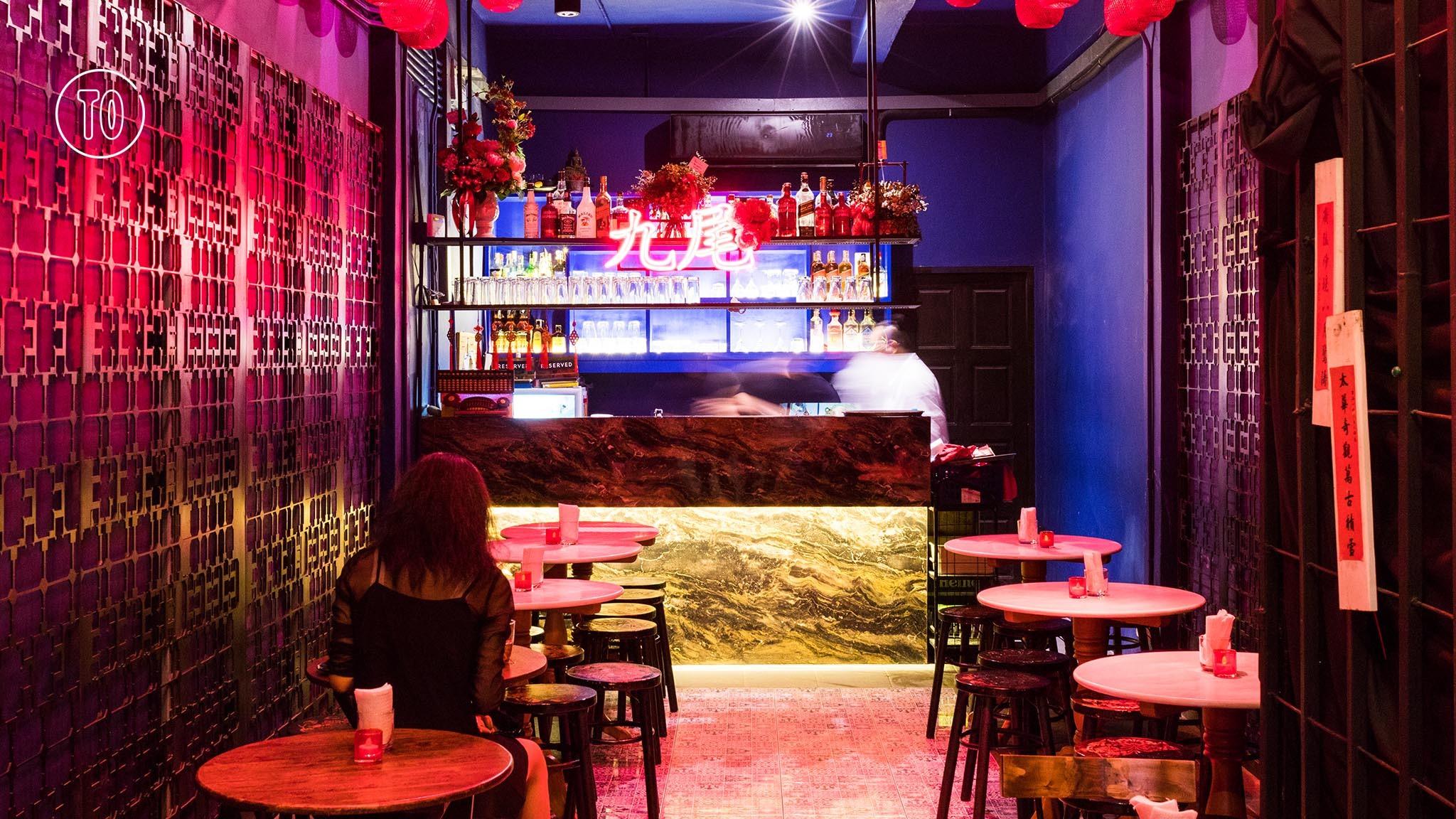 ninetails cocktail bar