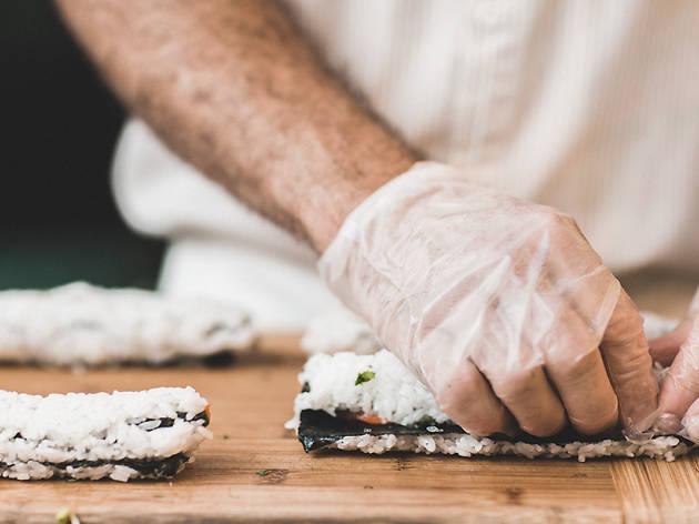 Taller Sushi chef ROC35
