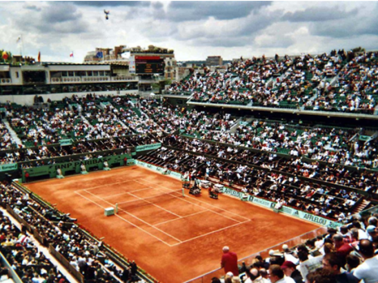Catch the grandest of slams at Roland Garros