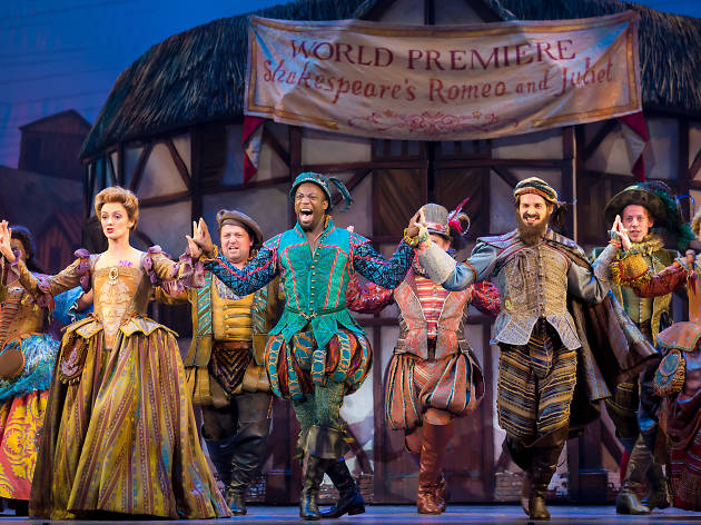 The Kimmel Center presents Something Rotten!, featuring Adam Pascal, Josh Grisetti and Rob McClure.