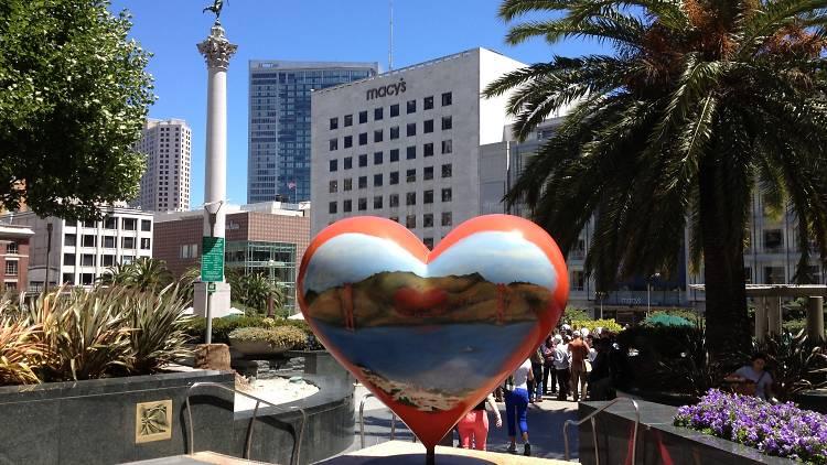 Heart Union Square