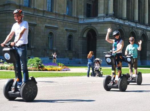 Bike, e-bike and Segway tours