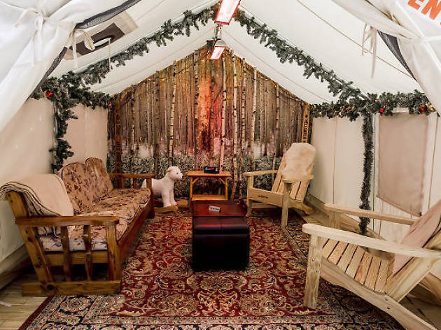 Get romantic in a tent