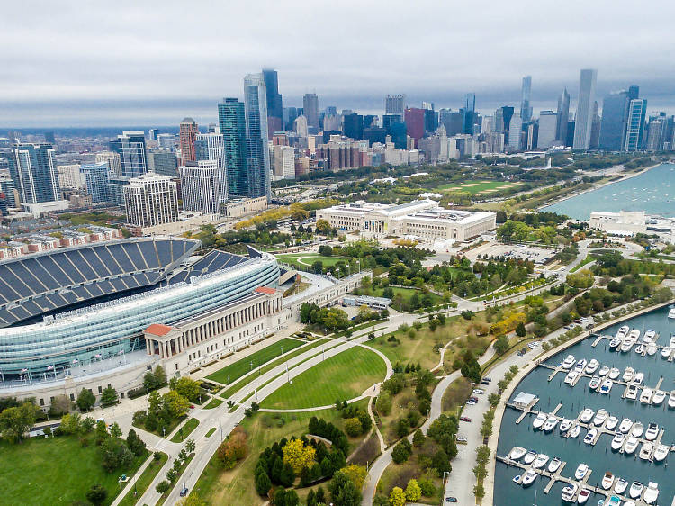 Soldier Field, 1410 Museum Campus Dr
