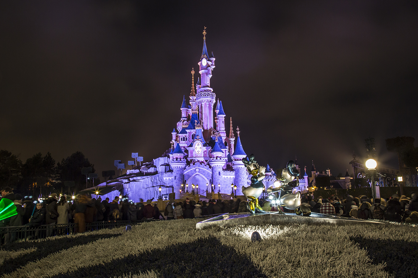 Disney castle - Time Out Disneyland paris and Mastercard Creative Solutions