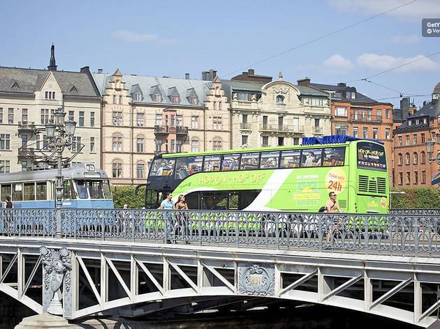 Stockholm Hop-On Hop-Off Bus and Boat: 24/72-Hour