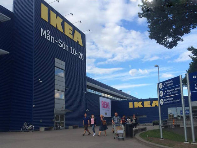 Free bus ride to Ikea