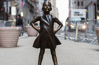The Fearless Girl statue will remain in NYC permanently