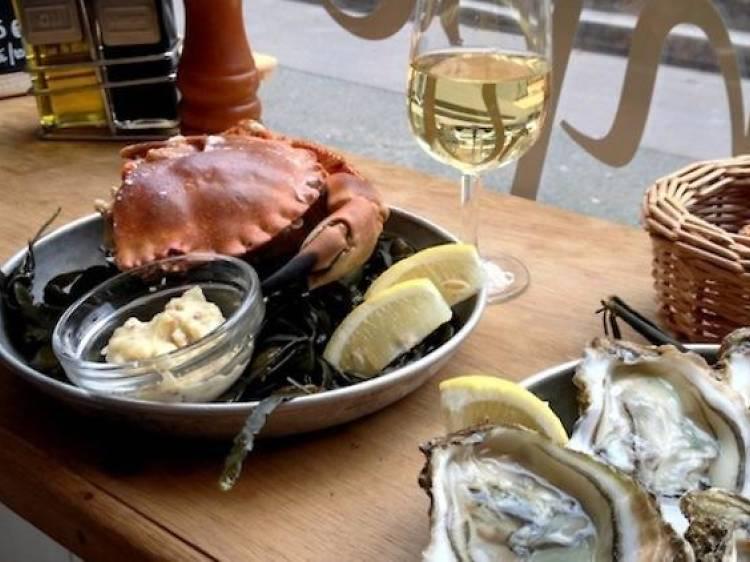 Les fruits de mer les plus frais de Paris