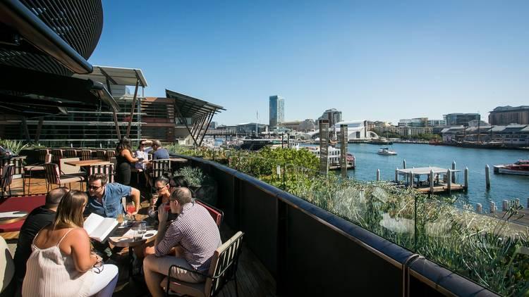 Sydney Harbour at Smoke Bar Barangaroo