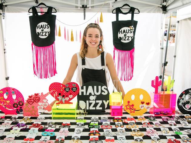 Haus of Dizzy Stall at Glebe Markets