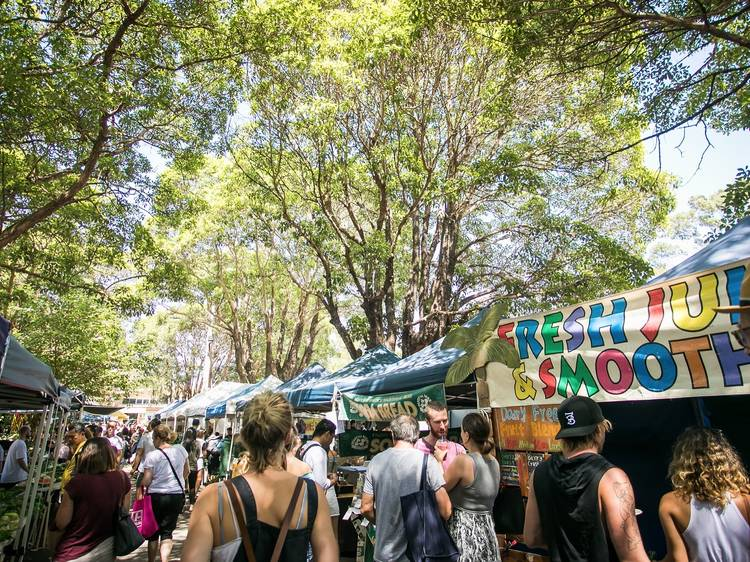 Check out the Marrickville Organic Markets