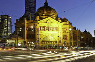 PTV Flinders Street Station