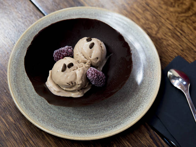 Enjoy boozy ice cream at the Exchange