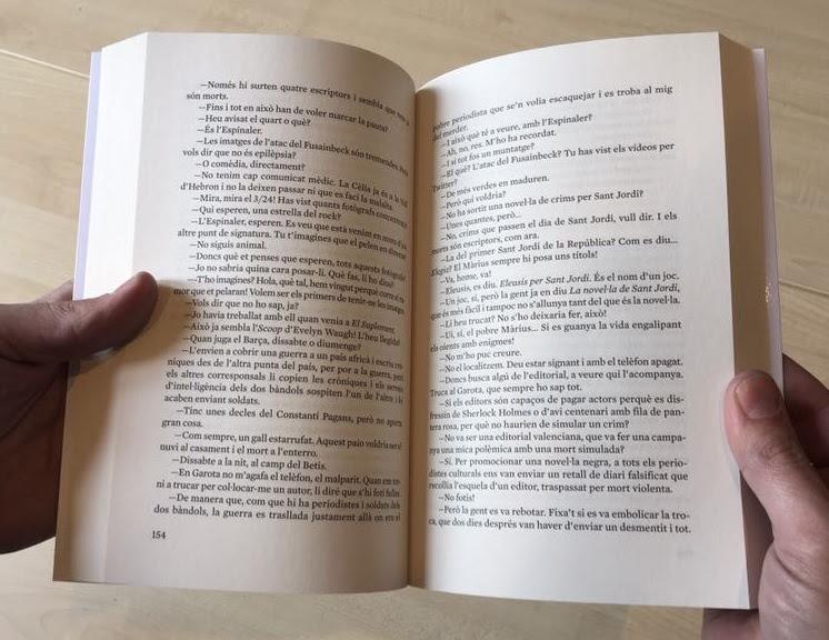 Ara Llibres i Amsterdam eliminen la pàgina 155