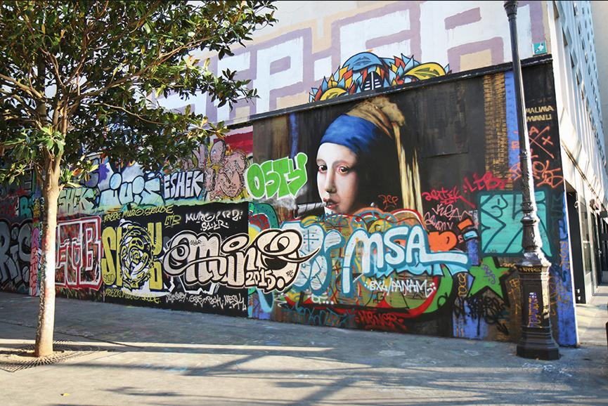 Guide du street art