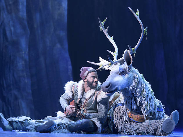 A deep dive into the costumes from Frozen on Broadway