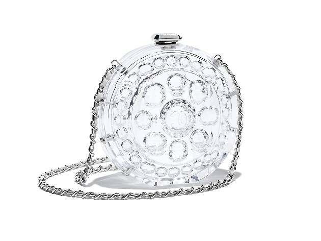 Chanel transparent minaudiere