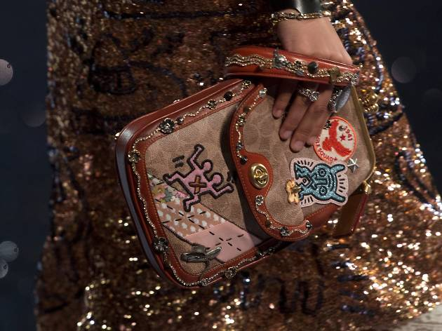 Coach x Keith Haring SS 2018. Image: Keith Haring FNDT